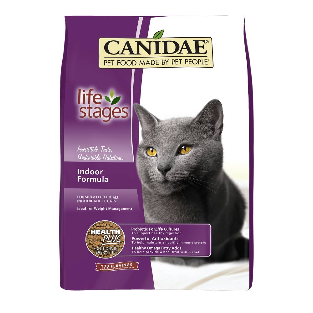 Canidae Life Stages Indoor Cat Dry Food 4 lbs