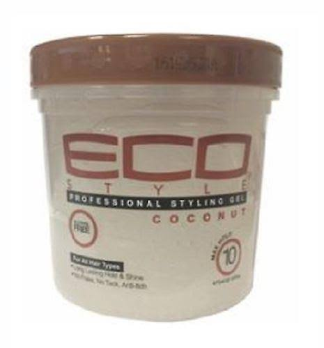 Eco Style Coconut Oil Styling Hair Gel 355ml/12oz