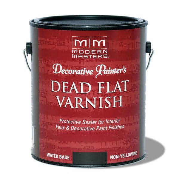 Modern Masters Decorative Painter's Dead Flat Varnish - 3.78l