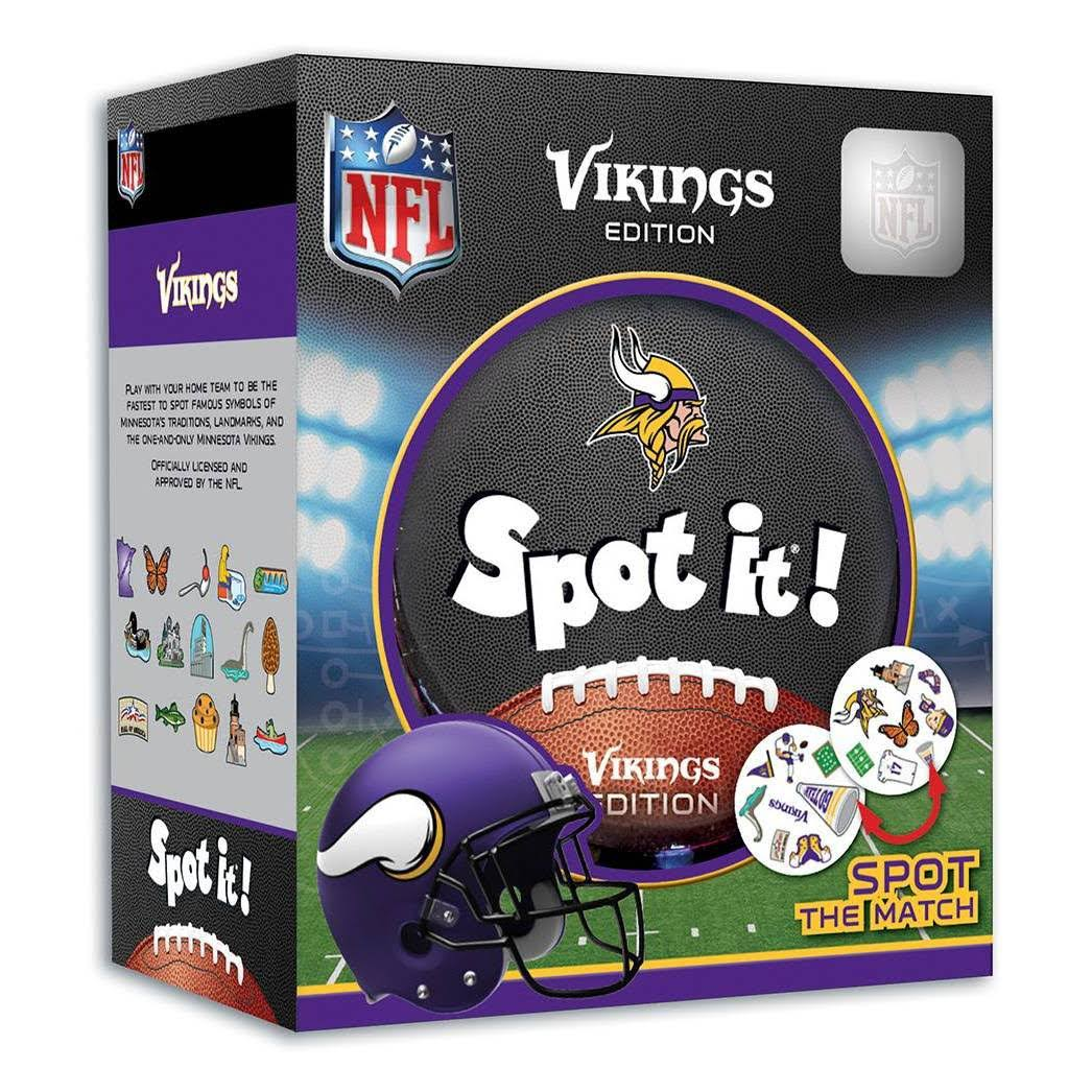 Minnesota Vikings NFL Spot It! Game