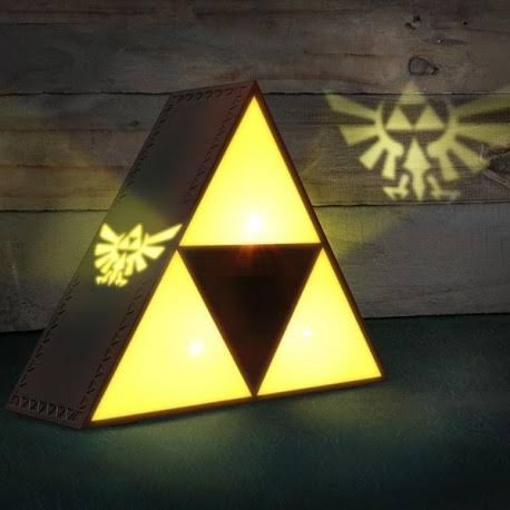 Legend of Zelda Tri-force Light