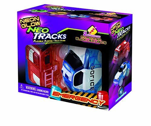 Mindscope Neon Glow Twister Tracks Neo Tracks Vehicle Toys - 2pk