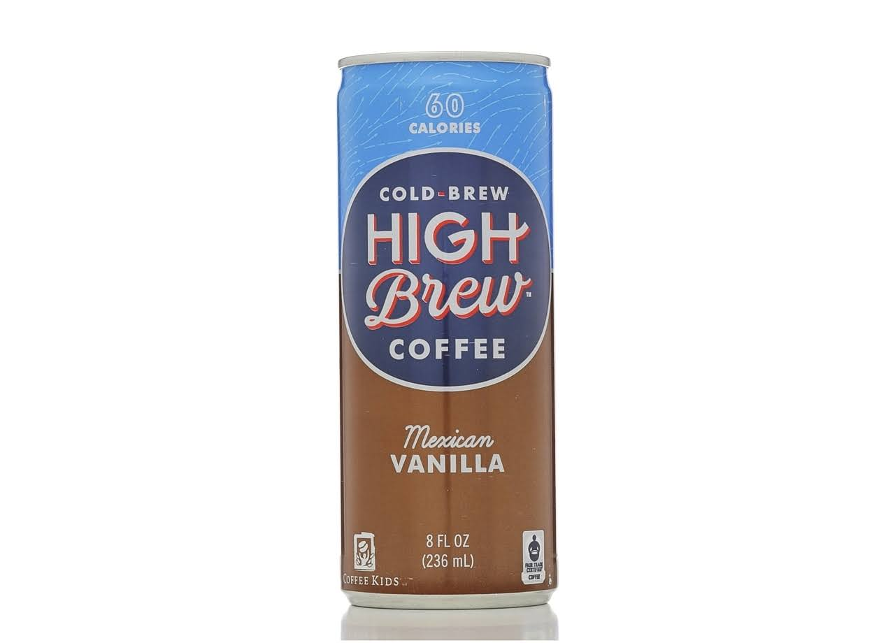 High Brew Coffee - Mexican Vanilla