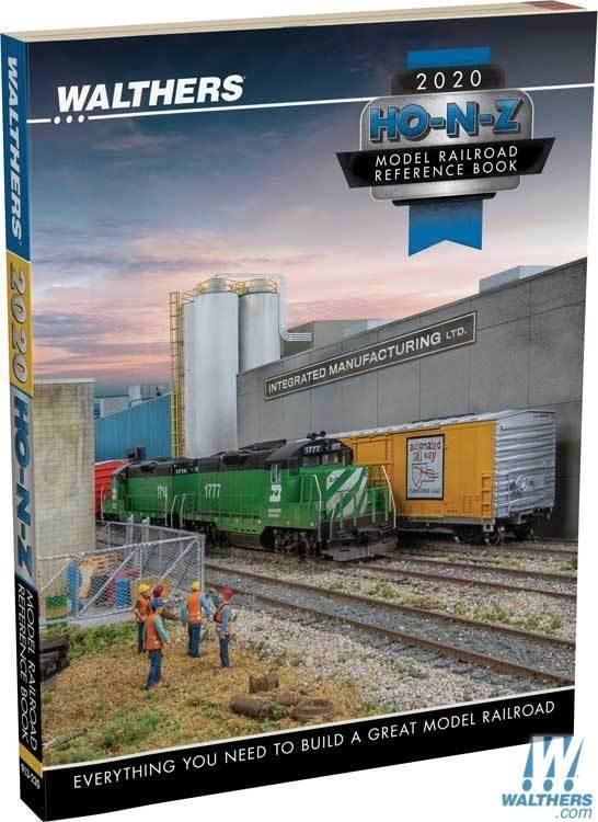 Walthers 913-220 Ho, N, Z 2020 Model Railroad Reference Book