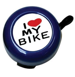 "Sunlite ""I Love My Bike"" Bell - Blue"
