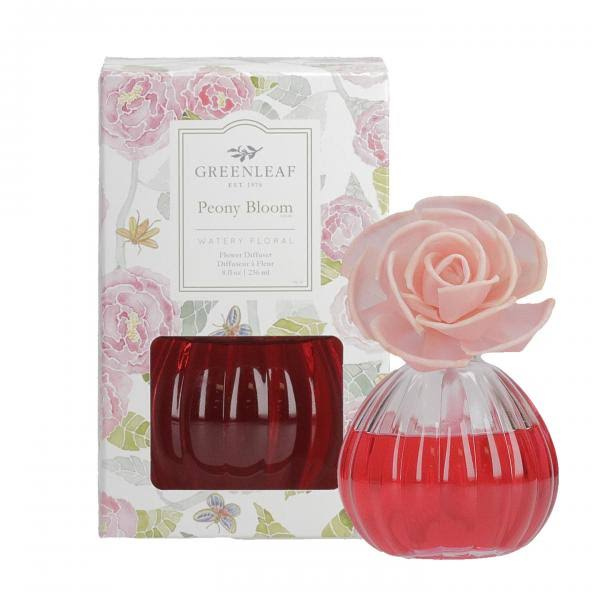 Greenleaf Gifts Peony Bloom Flower Diffuser