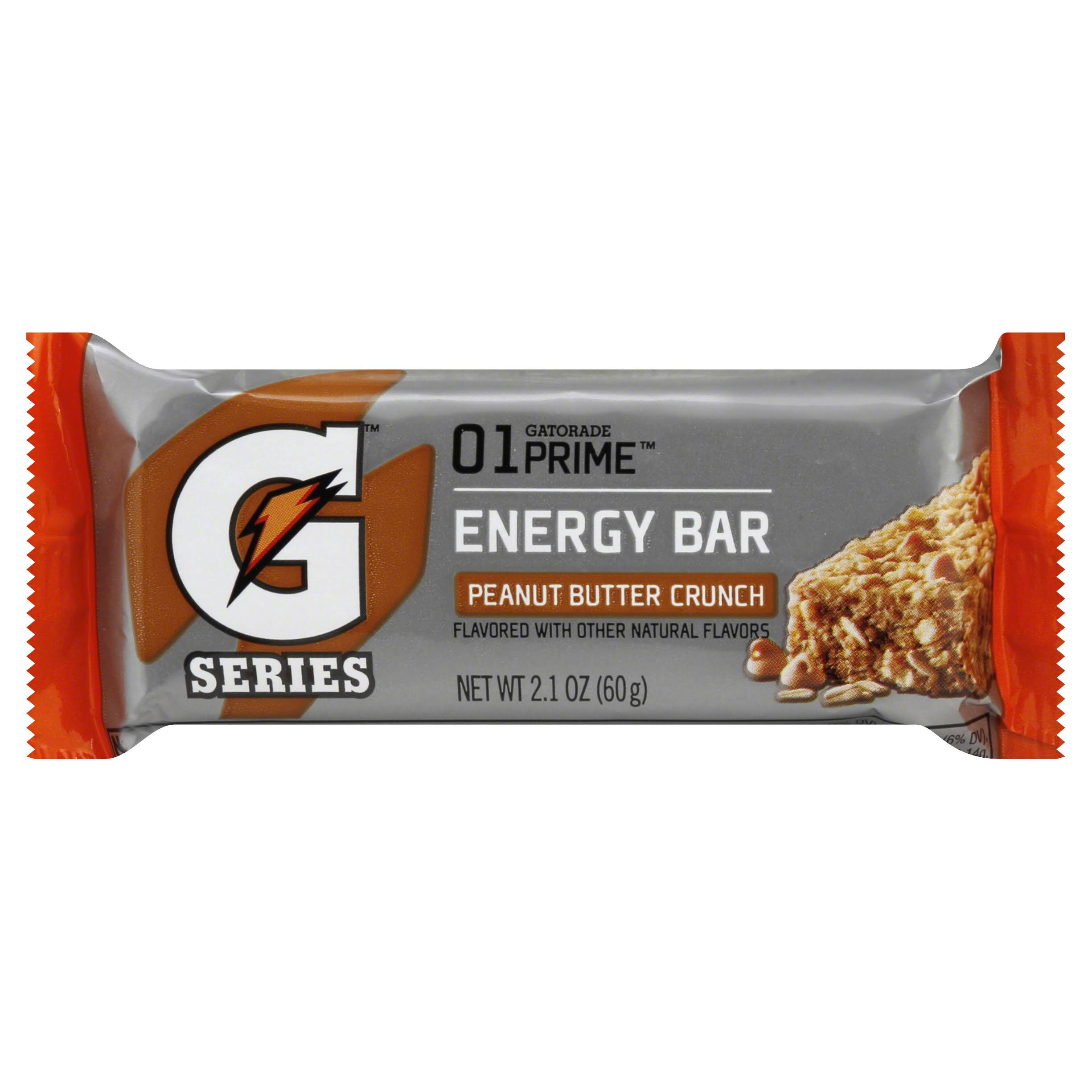 Gatorade G Series Energy Bar, 01 Prime, Peanut Butter Crunch - 2.1 oz