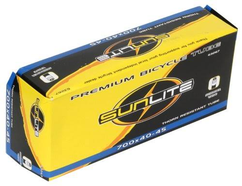 Sunlite Thorn Resistant Bicycle Tube - 35mm, 12.5x.25""
