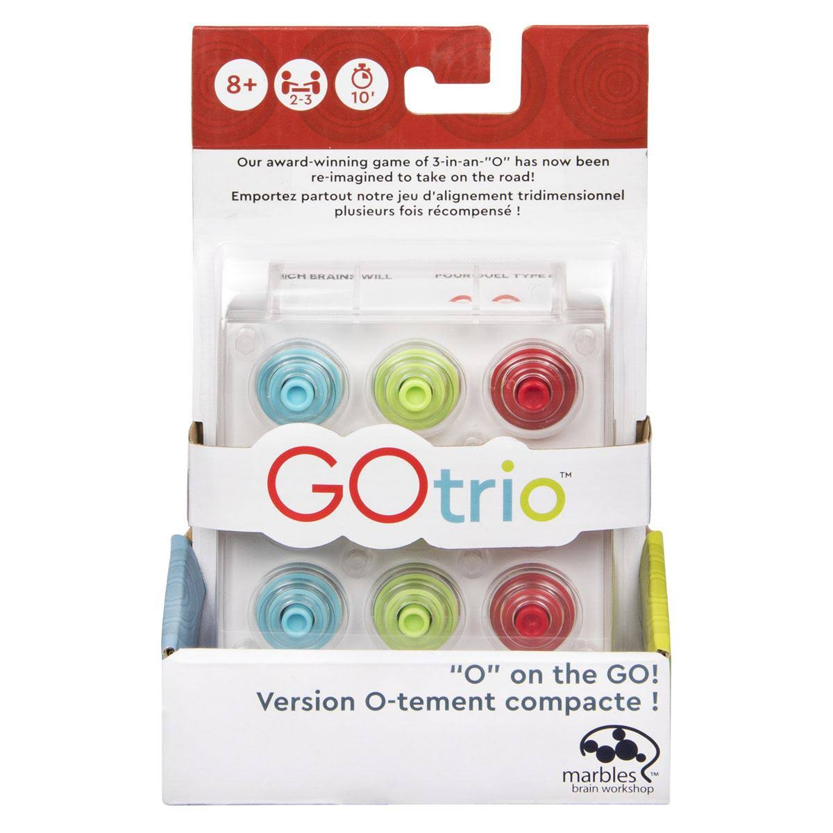 Gotrio Game by Marbles Brain Workshop, Travel Game for Players Aged 8 & Up