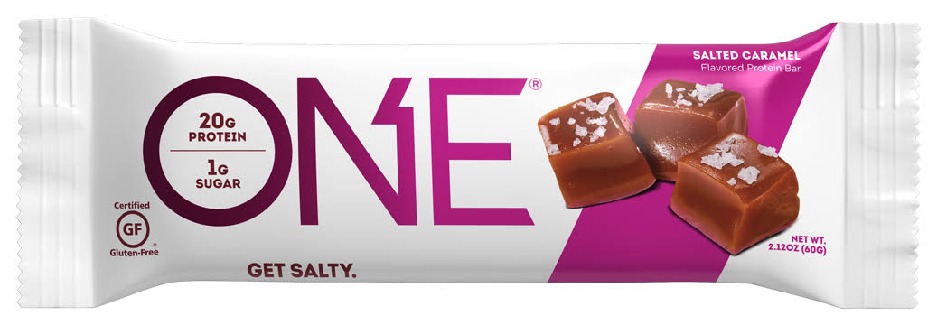 One Protein Bar, Salted Caramel Flavored - 2.12 oz