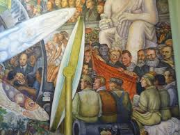 David Alfaro Siqueiros Famous Murals by Mexico City Alameda Central Active Boomer Adventures