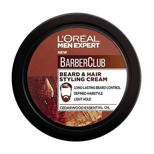 L'Oreal Men's Expert Barber Club Beard Hair Styling Cream - 75ml