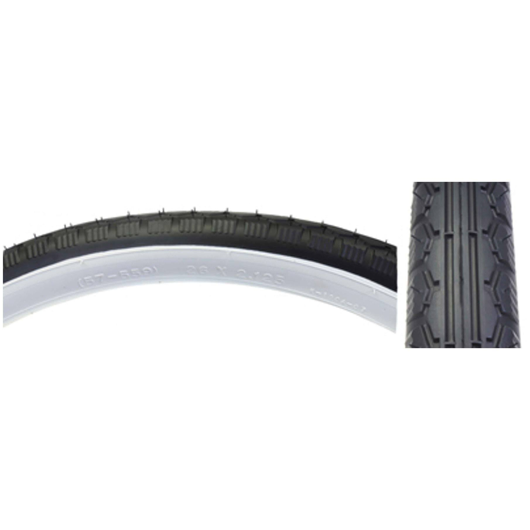 "Sunlite Street Tires - Black and White, 26"" x 2.125"""