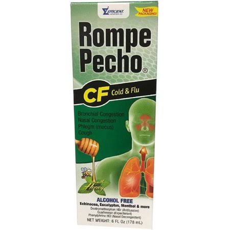 Rompe Pecho CF Cough Syrup