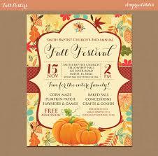 Free Pumpkin Patch Houston Tx by Fall Festival Harvest Invitation Poster Pumpkin Patch Farm