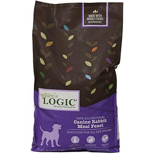 Nature's Logic Rabbit Meal Feast Dry Dog Food, 15.4 lb