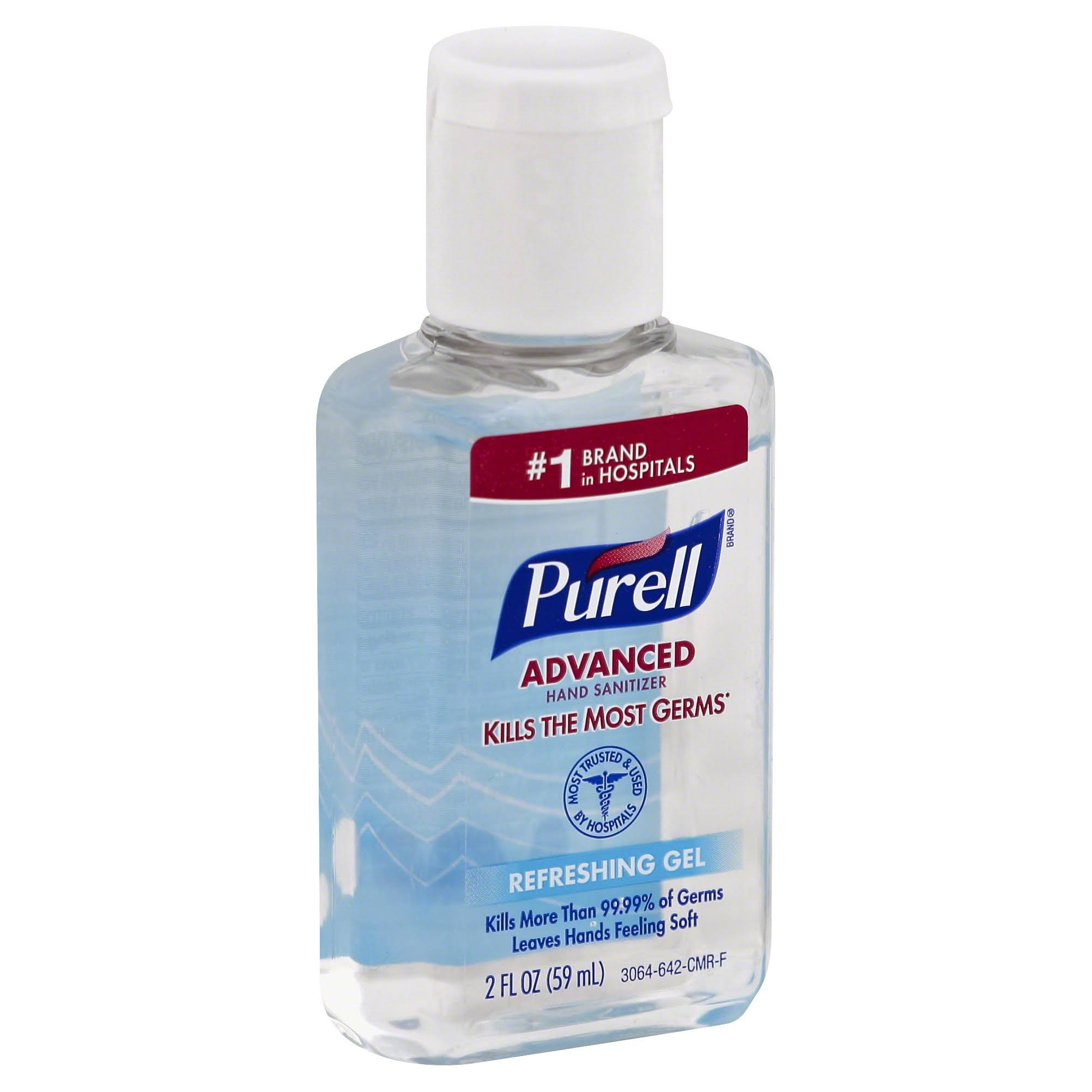 Purell Hand Sanitizer, Advanced, Refreshing Gel - 2 fl oz