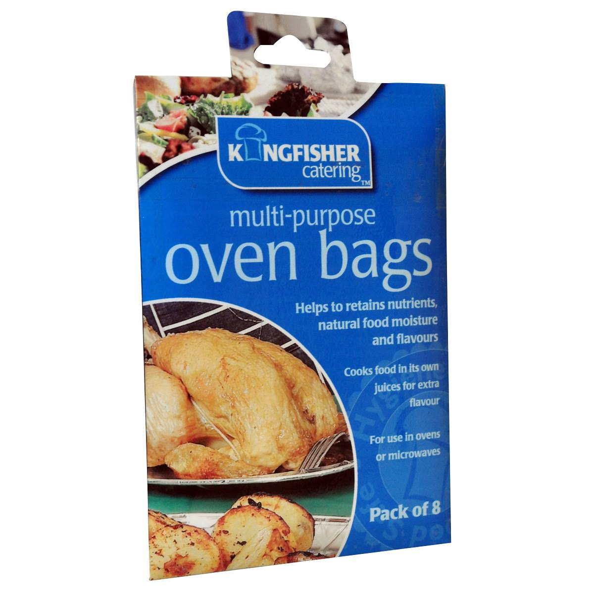 Kingfisher 8 Oven Roasting Bags