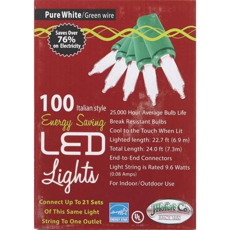 J Hofert Led Mini Clear Light Set - 100pcs