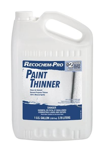 Recochem-Pro 1860808 1 Gal Paint Thinner - Pack of 4