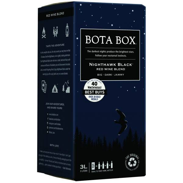 Bota Box Nighthawk Black Blend - California