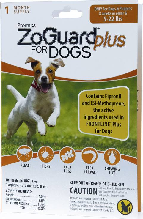 ZoGuard Plus for Dogs Flea and Tick Control