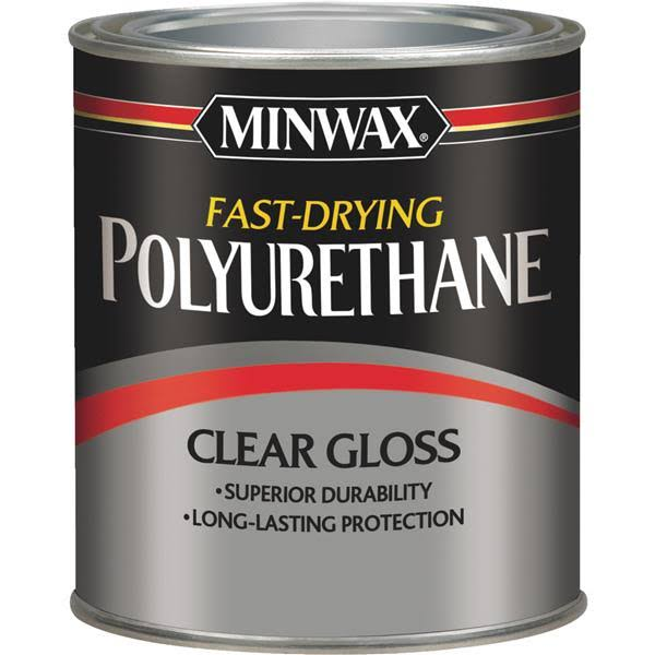 Minwax Fast-Drying Polyurethane - Clear Gloss