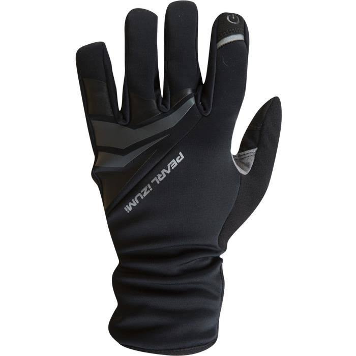 Pearl Izumi Elite Softshell Gel Cycling Gloves - Black, Medium