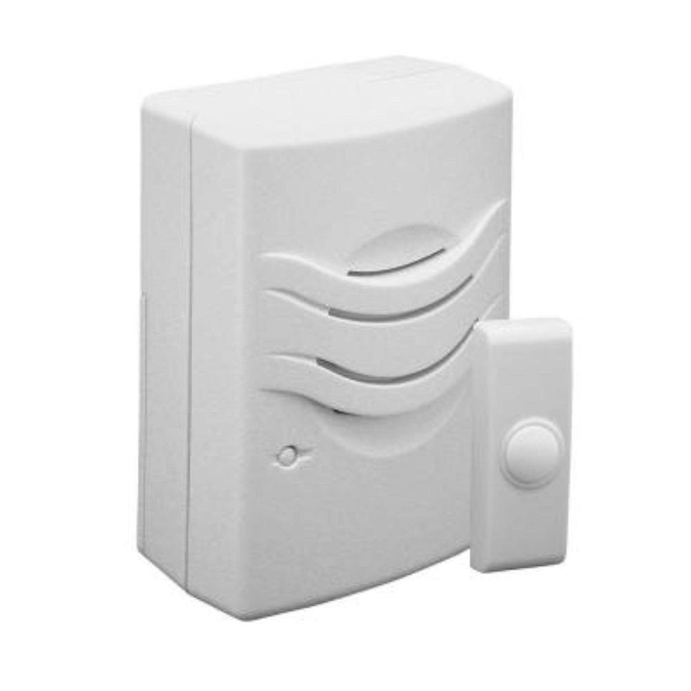 IQ America Wireless Doorbell Kit - Push Button Factory, 2 Chimes