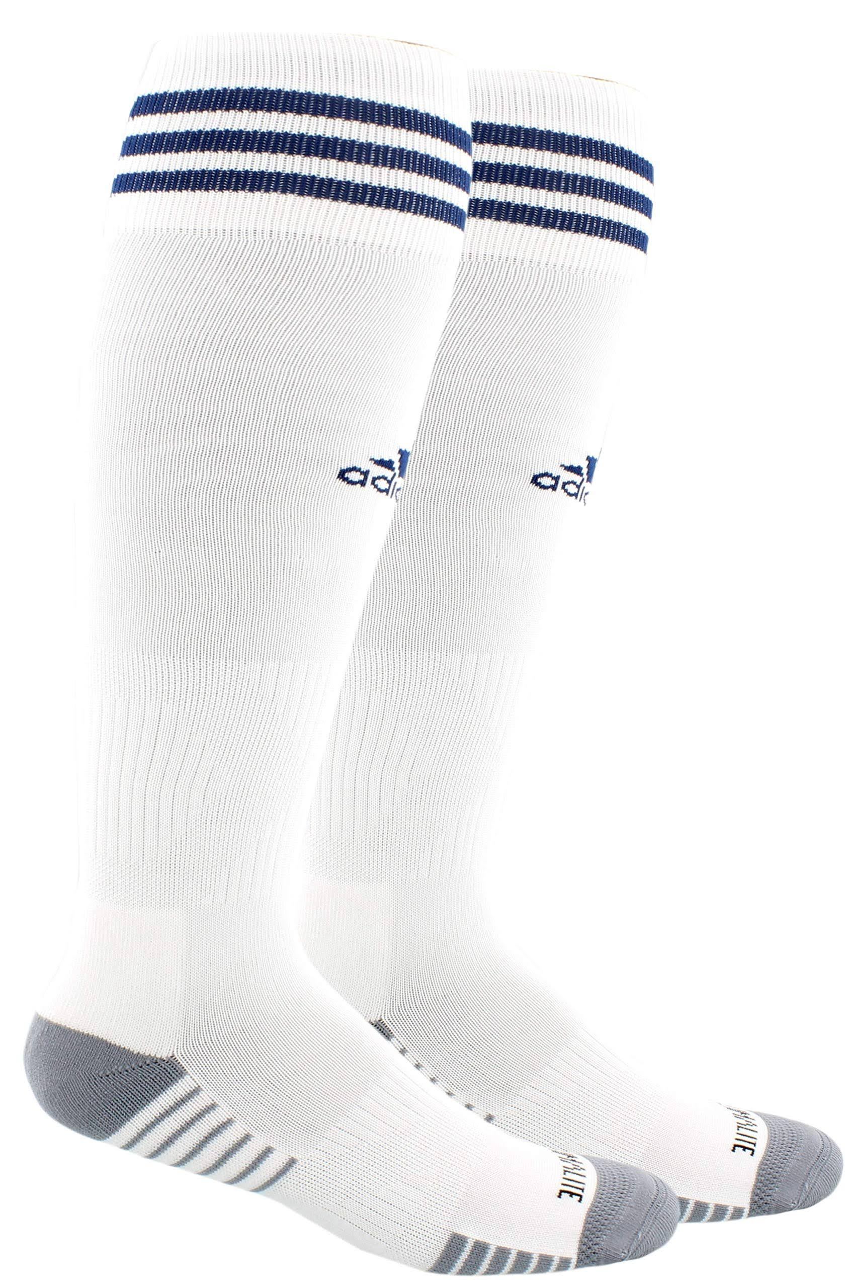 Adidas Copa Zone Cushion IV Socks - White/Navy - L
