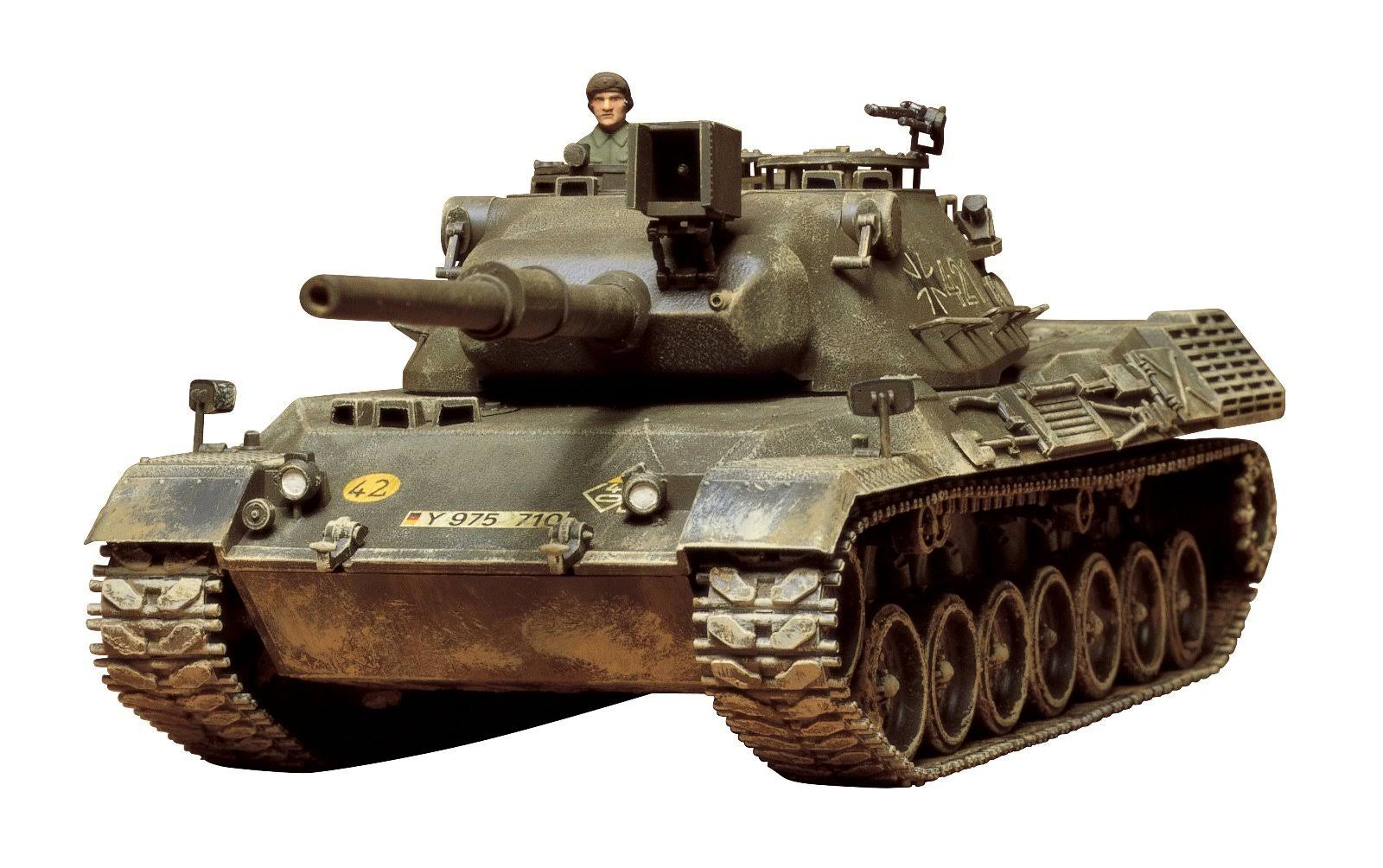 Tamiya Model Toy - German Leopard Medium Tank