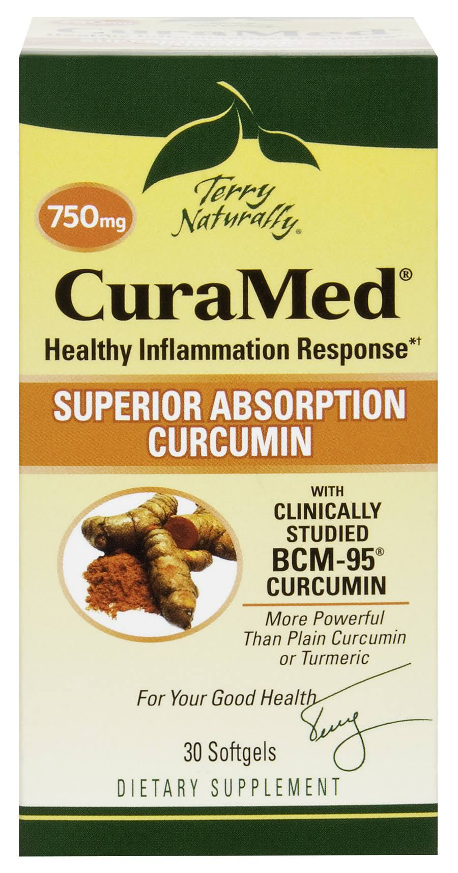 Terry Naturally CuraMed 750mg - 30 Softgels