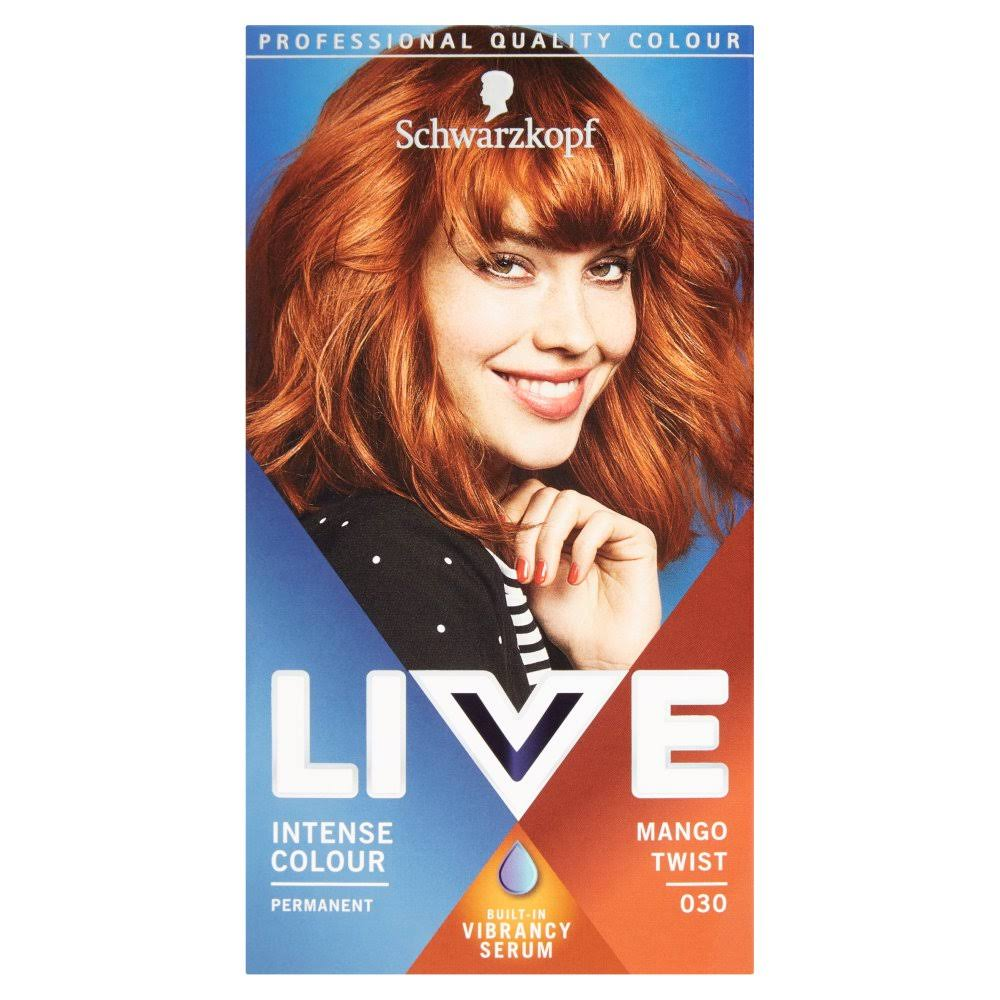 Schwarzkopf Live Intense Colour Permanent Hair Dye - 030 Mango Twist