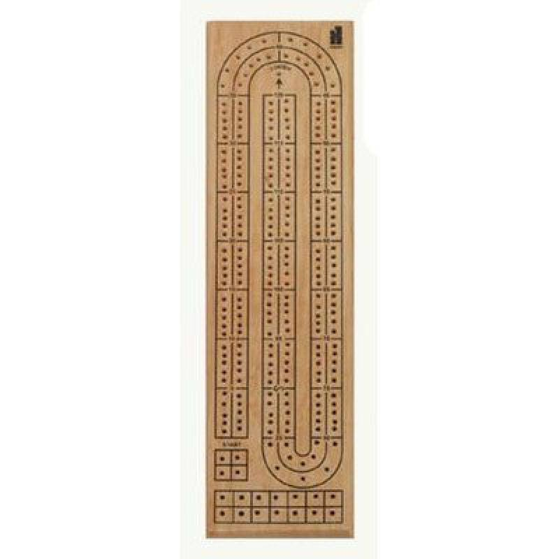 Double Track Cribbage Game