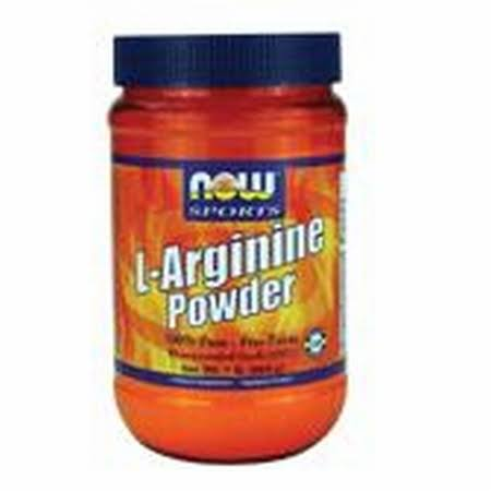 Now Sports L-Arginina Powder - 454g
