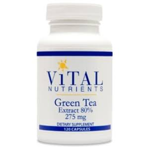 Vital Nutrients Green Tea Extract Supplement - 275mg, 120 Capsules