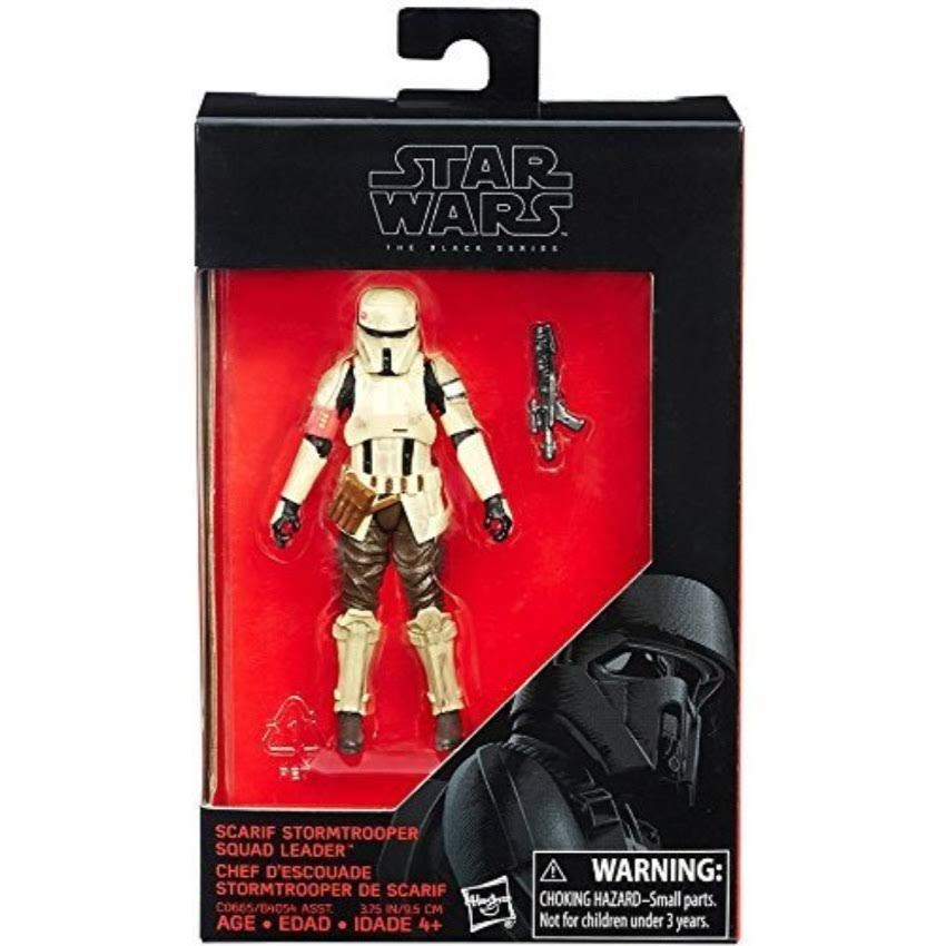 Hasbro Star Wars Rogue One The Black Series Action Figure - Scarif Stormtrooper Squad Leader