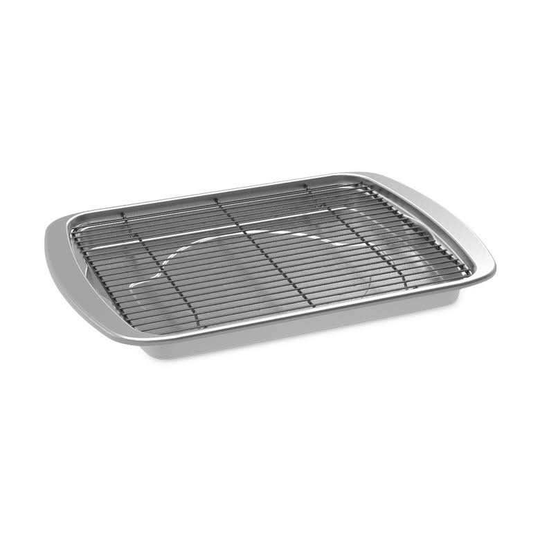 "Nordic Ware Oven Bacon Pan - Silver, 15"" x 11.38"" x 1.25"""