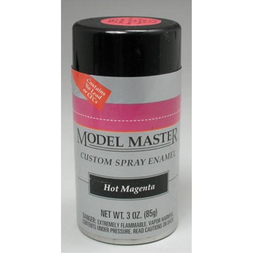 Testors 2955 Model Master Spray Hot Magenta 3 oz