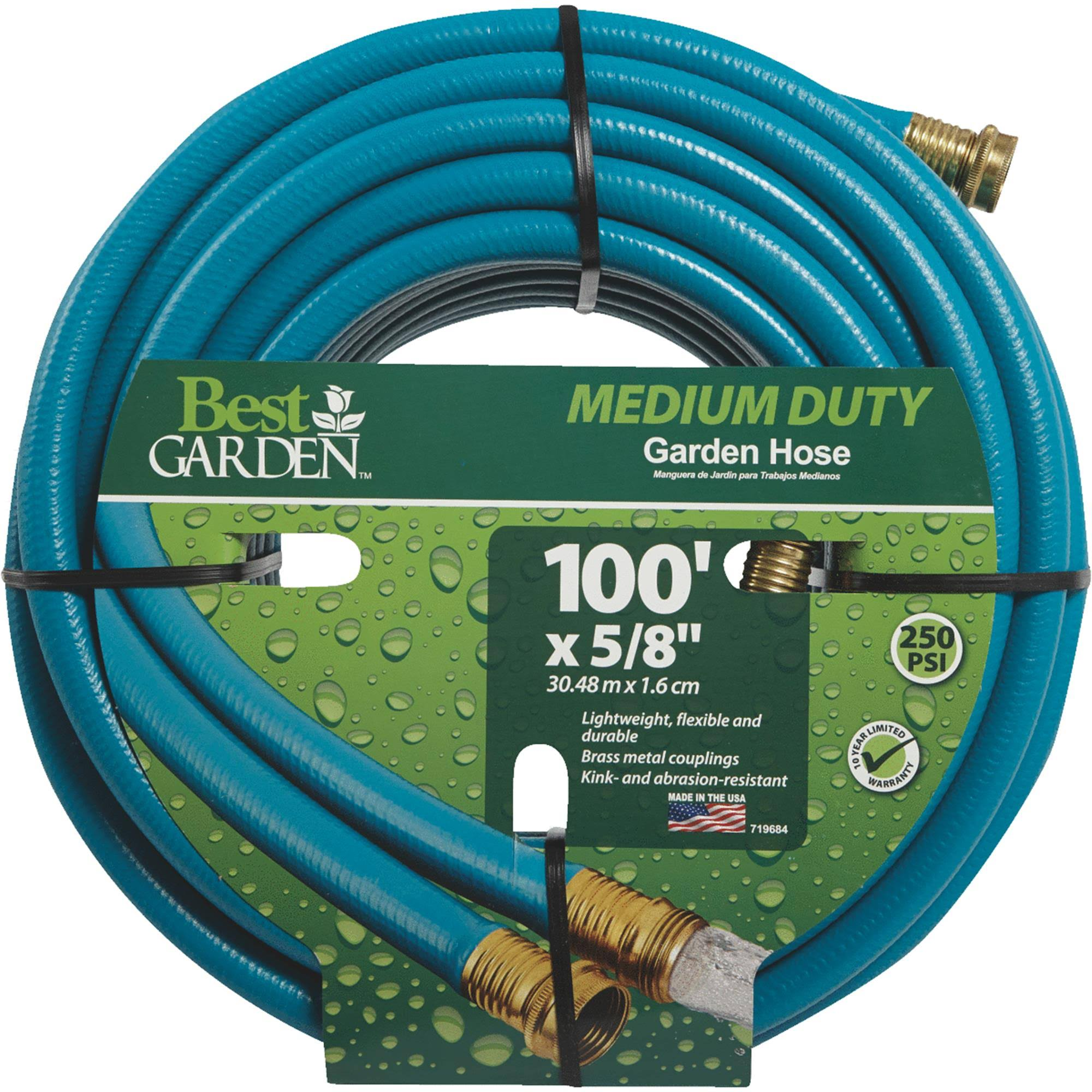 Do It Best Medium-Duty Vinyl Garden Hose - 5/8in x 100ft