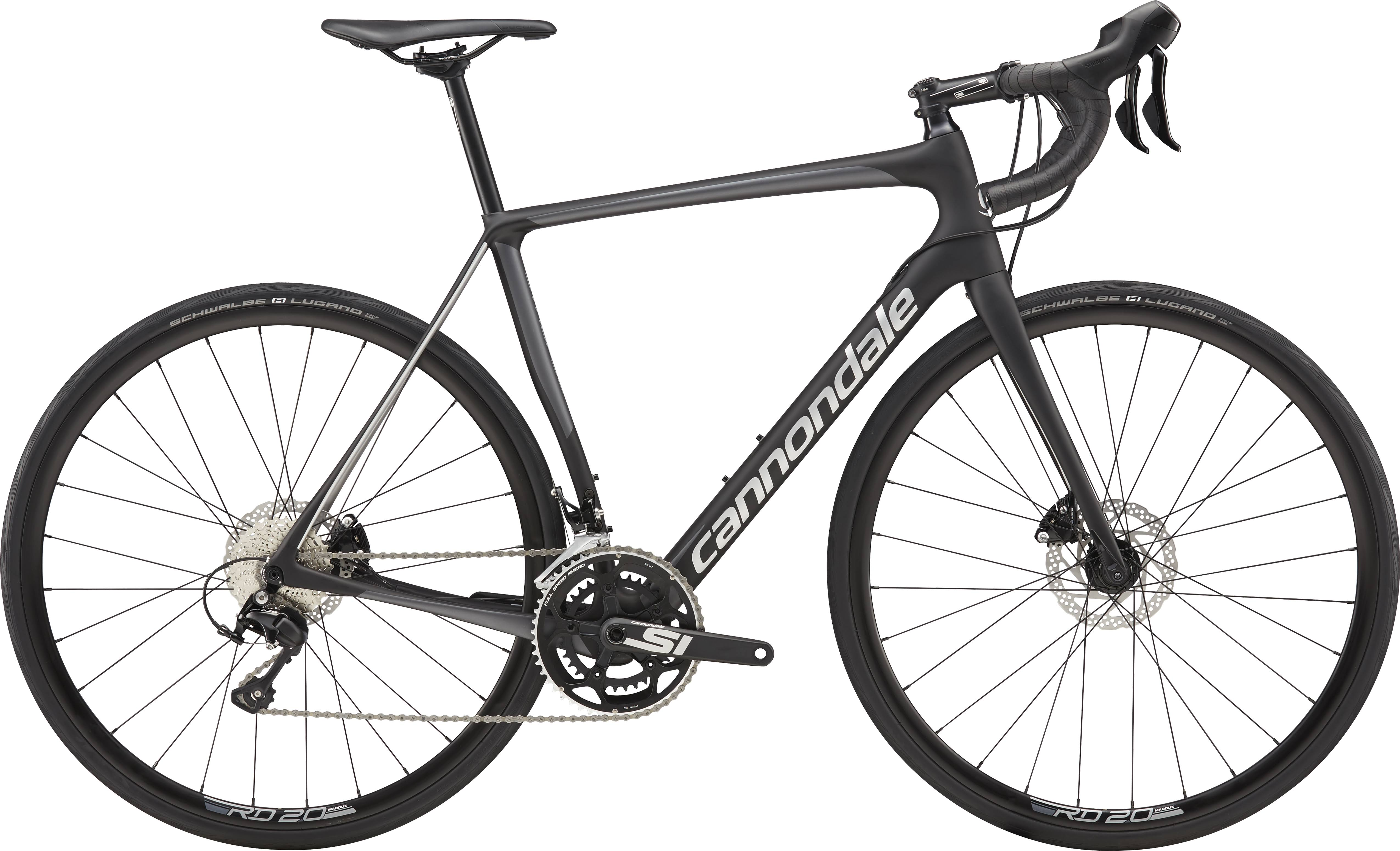 Cannondale Synapse Carbon Disc 105 Road Bike - Black
