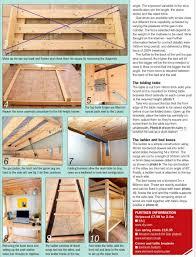 Wood Bunk Beds Plans by Convertible Bunk Bed Plans U2022 Woodarchivist