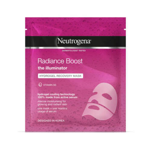 Neutrogena Radiance Boost Hydrogel Recovery Mask - 30ml
