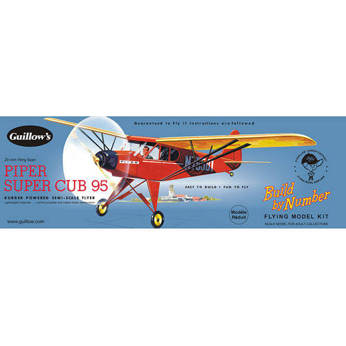 Guillow's Piper Super Cub 95 Model Kit