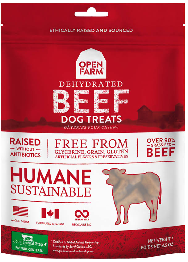 Open Farm Dog Dehydrated Beef Treat