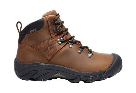 KEEN Pyrenees Mens Hiking Boots - Brown, Size 10