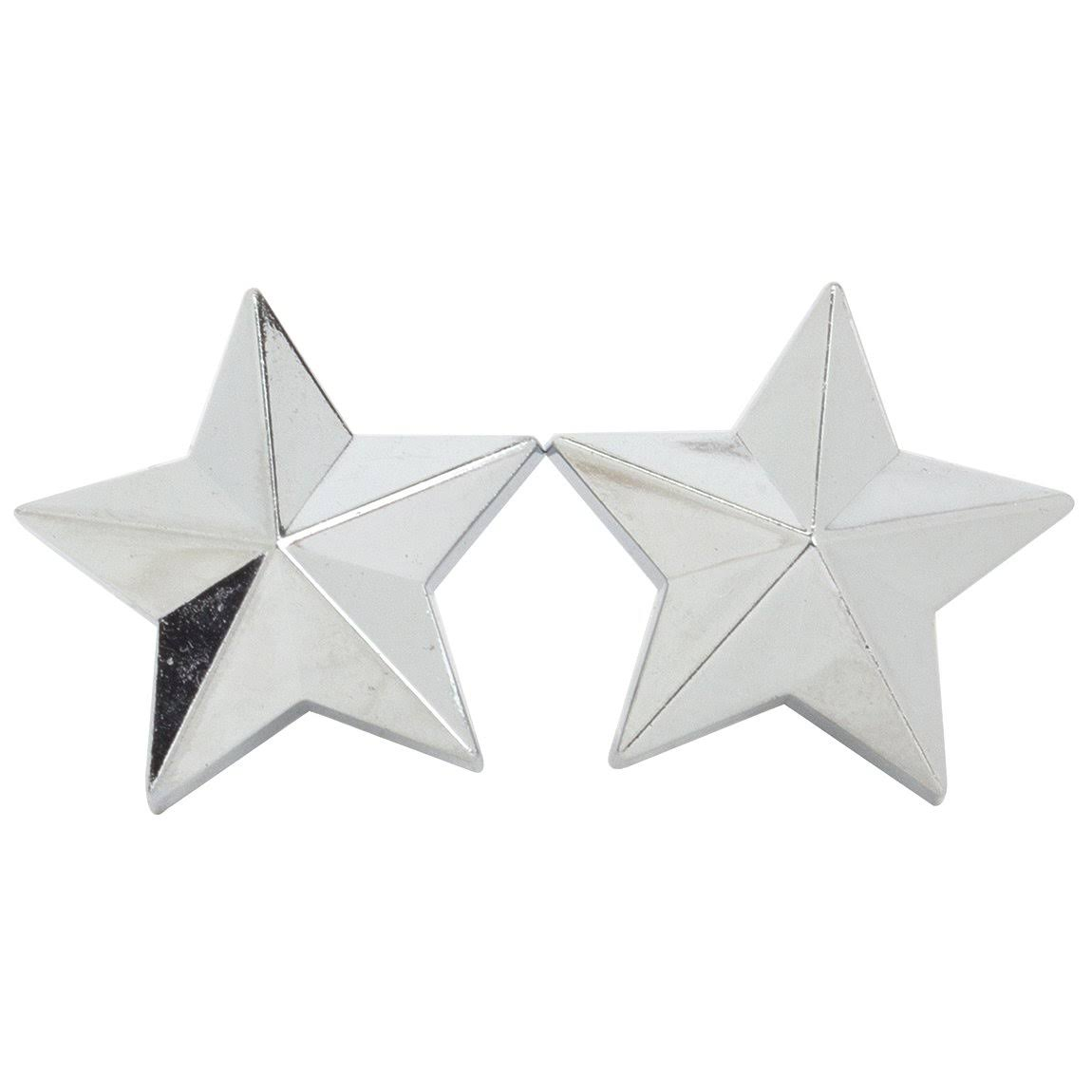 Trick Top Valve Caps Stars - Chrome