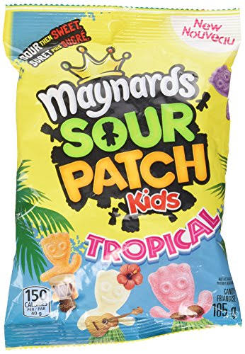 Maynards Sour Patch Kids Tropical Candies - 185 Grams