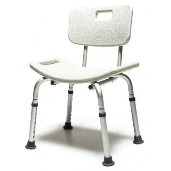 Lumex 7921R Platinum Collection Bath Shower Seat - With Backrest