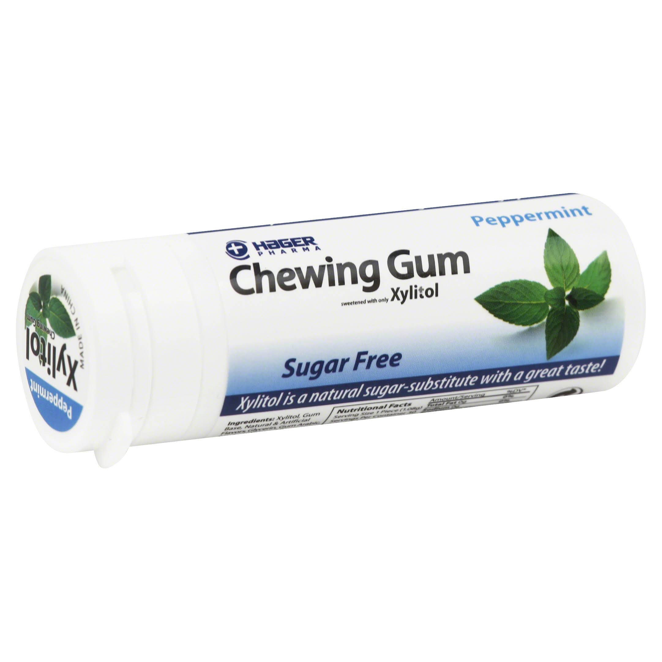 Hager Pharma Chewing Gum - Peppermint